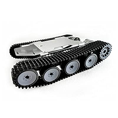Robot Tank Track Suspension System Aluminum Alloy Chassis Intelligence RC Track Chassis