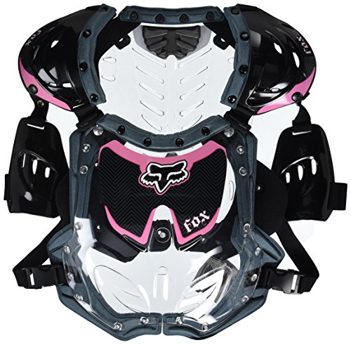 Fox Racing R3 Women's Roost Deflector MotoX Motorcycle Body Armor - Black/Pink/Small/Medium