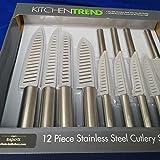 Kitchen Trend 12 Piece Stainless Steel Knife Cutlery Set