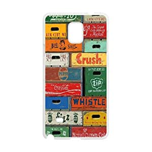 HEHEDE Phone Case Of Retro Fashion Style Colorful Painted For Samsung Galaxy Note 4