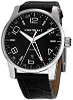 Montblanc Men's 36065 Timewalker Black Dial Watch by Montblanc