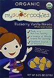 MYSUPERCOOKIES Blueberry Vanilla Heroes Cookies, 6.25 OZ