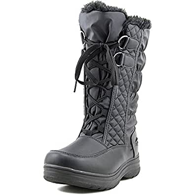 Amazon.com | totes Women's Corina Winter Boots (7W, Black