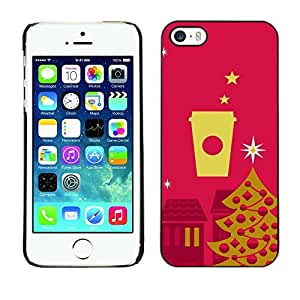 diy phone caseYOYO Slim PC / Aluminium Case Cover Armor Shell Portection //Christmas Holiday Pattern 1131 //Apple Iphone 5 / 5Sdiy phone case