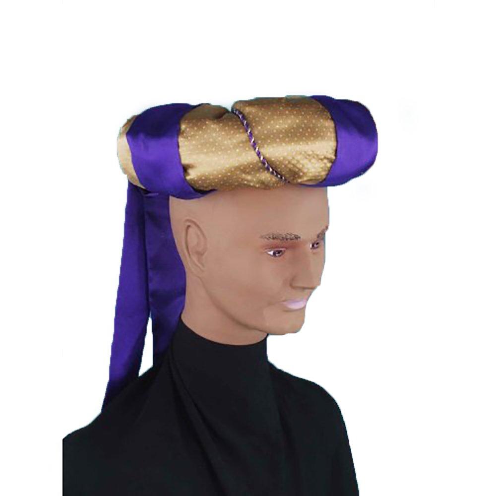 Giant Turban Headpiece Sultan Prince Costume Accessory