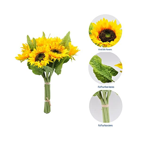 cn-Knight-Artificial-Sunflowes-Real-Touch-Silk-Flowers-for-Wedding-Bridal-Bouquet-Bridesmaid-Groomsman-Corsages-Boutonniere-Home-Dcor-Office-Baby-Shower-Party-Centerpieces2-in-Pack