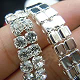 Crystal Rhinestone Close Chain SS16 Clear