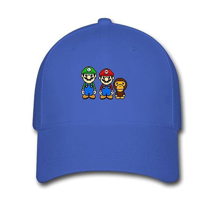 Baby Milo Bape Mario Top Sale Royal blue Julia Pidtikanila Cap Hat ... 9c56a6ecbed