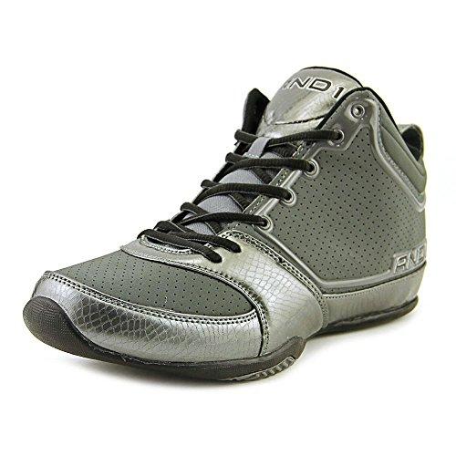 And1 Theme Men US 9 Gray Basketball Shoe