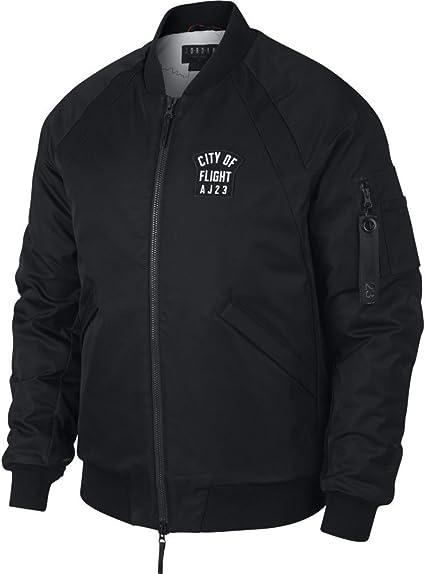 Nike Air Jordan Wings COF MA 1 Jacket City of Flight Black