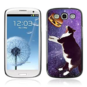 Designer Depo Hard Protection Case for Samsung Galaxy S3 / Space Cat