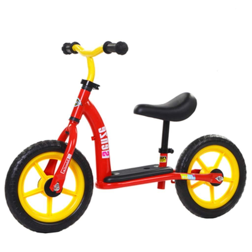 entrega rápida rojo CHAOYUE Coche de Equilibrio para niños sin sin sin Pedal 1-3-6 años. Coche de Juguete (Color   rojo)  exclusivo