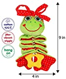 MACIK Infant toys - Baby toys 0-3 months - Carseat activity toy stroller toys - Baby girl toys travel toys baby - 3-6 baby toys clip on toys travel - in Crib toys hanging toys for babies toys infant