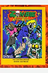 The Zombie Coloring & Activity Book Paperback