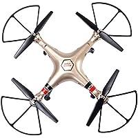 Safeplus Syma X8HC 2.4G 4CH 6-Axis Gyro RC Quadcopter Drone 2MP HD Camera UAV RTF UFO