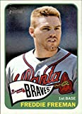 2014 Topps Heritage #148 Freddie Freeman - Atlanta Braves (Baseball Cards)