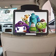 TFY Samsung Galaxy Tab 2 10.1 Car Headrest Mount Holder, Kids Security Hands-Free Headrest Travel Bracket Stand for Road Trip - Provide Entertainment for Kids and Back Seat Passengers