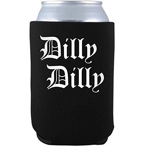 Daft Threads Dilly Dilly Ultimate Beer Can Glass Cooler & Sticker
