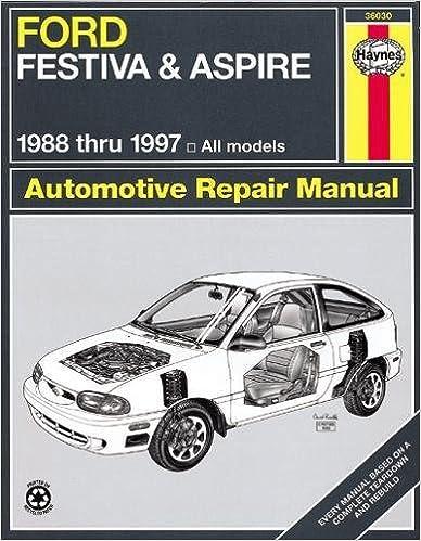 Ford Festiva and Aspire, 1988-1997 (Haynes Manuals): Haynes ... on