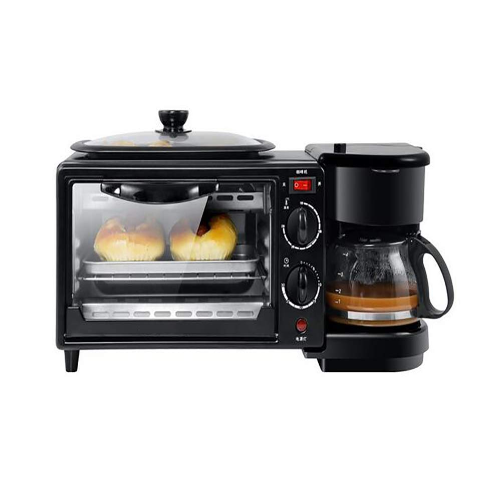 @Mu Mini Oven Multi-Function Three-in-one Breakfast Machine Coffee Electric Oven for 2-3 People