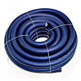 Conext Link 20 FT 2/0 00 AWG GA Full Gauge Battery Power Cable Ground Wire Frost Blue OFC Copper