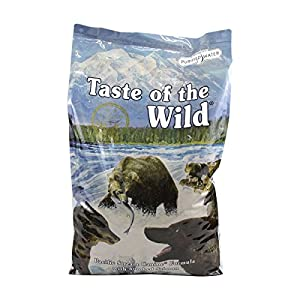 Taste of the Wild Dry Dog Food, Pacific Stream Canine Formula with Smoked Salmon, 30-Pound Bag
