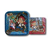 Jake and the Neverland Pirates Themed Party Supply Kit - Napkins and Plates
