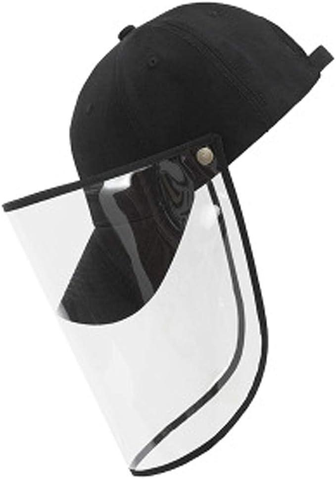 Elastic Full Face Shield Guard Goggles Visor Hat Eye Helmet Anti-Spitting