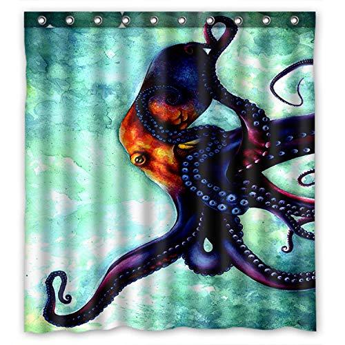 rainbow fish shower curtain - 6