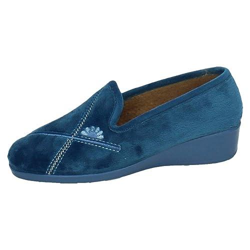 CASA DONA 071 Alpargatas Azules Mujer Zapatillas CASA AZAFATA 38: Amazon.es: Zapatos y complementos