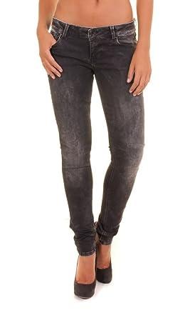 Guess Jeans W24A31 D0Sa0 Starlet Black Washed W29 Damen  Amazon.de ... 4f52919519
