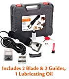 Pet & Livestock HQ 380W Professional Dog Grooming Clippers Kit, XLarge Large & Medium Dog Haircut Machine, Heavy-Duty, Electric Hair Trimmer for Dogs with Thick Coats, Horses, Equine, Cattle, 2 Blades