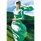 Canvas Prints Of Oil Painting ' A Woman In The Wind ' , 30 x 44 inch / 76 x 113 cm , High Quality Polyster Canvas Is For Gifts And Bar, Home Office And Nursery Decoration, how to print