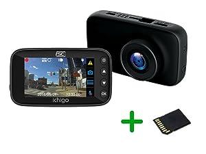 RSC Labs Ichigo | Super Night Vision Dashcam | 1080p HD Resolution | Powered by Sony STARVIS | Parking Surveillance Mode | 16GB SD Card Included | #RSC-Ichigo-B