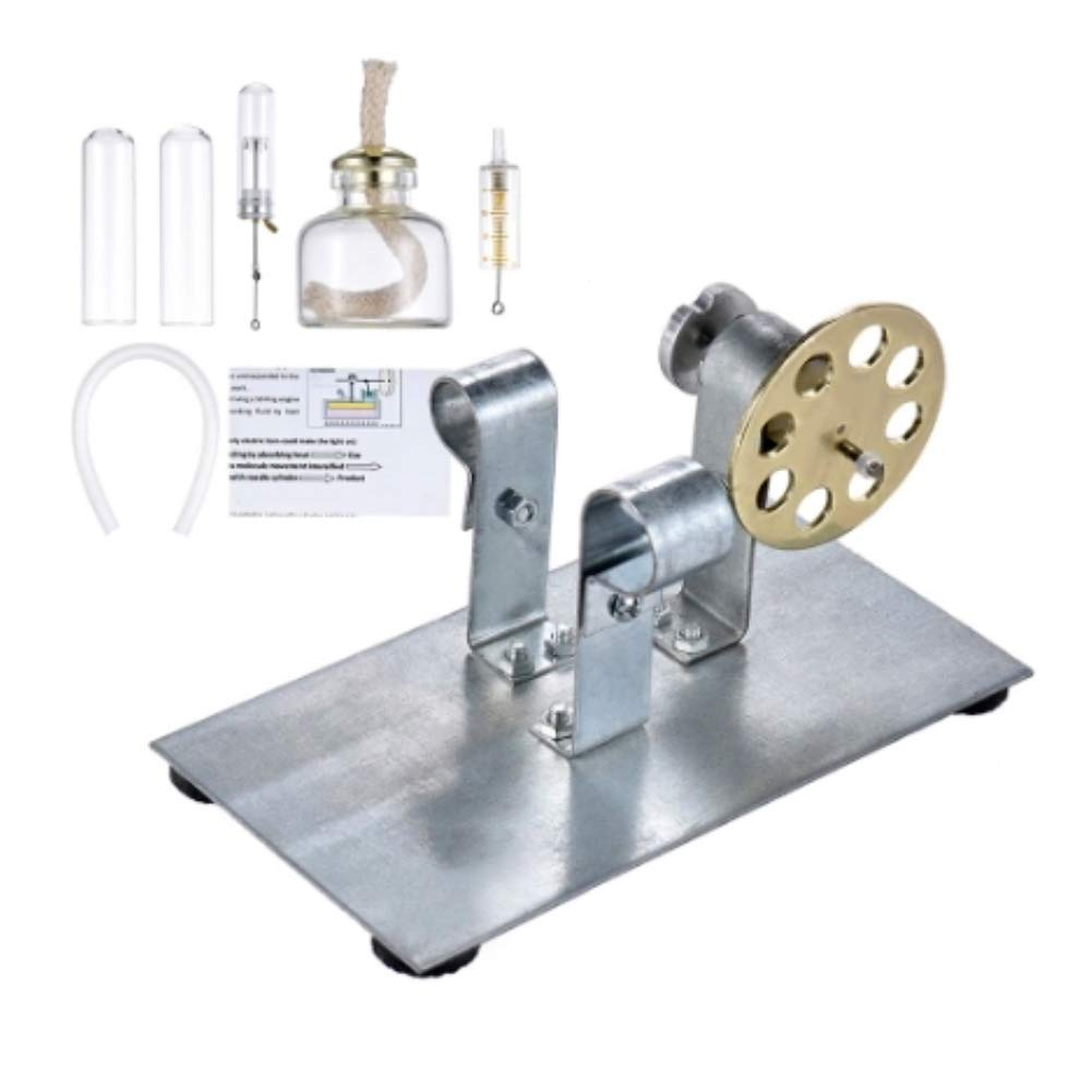 At27clekca Hot Air Stirling Engine Model Motor Steam Power Physics Toy Electric Generator by At27clekca (Image #4)