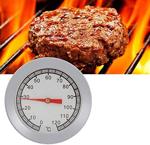 1pc Pizza Grill Thermomètre Indicateur de température 120 ℃ for Barbecue de cuisson Moniteur Temp GAGGE