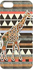 DaojieTM Generic Giraffe Design Slim and Stylish Protective Iphone 4/4s Case, Perfect Fit Snap on Hard Cover