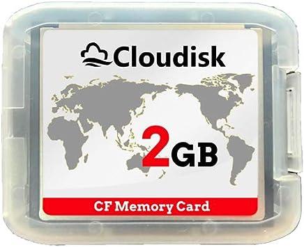 Cloudisk 2X CF Card Compact Flash Memory Card Performance For Vintage Digital Camera 2X32GB