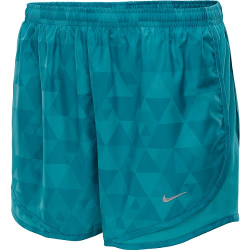 Nike Women's Printed Tempo Shorts (SMALL)
