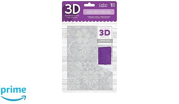 Die/'sire EF5-3D-EVTR 3D Embossing Folder Clear