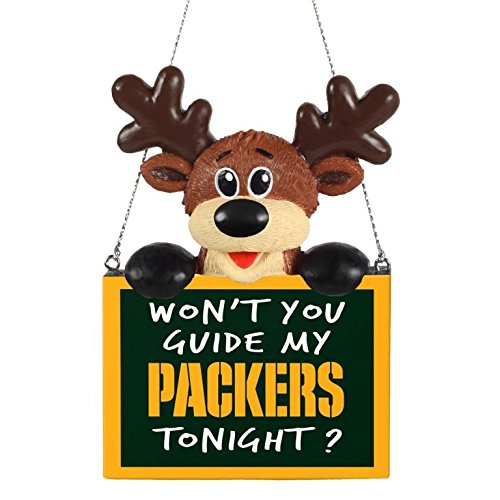2015 NFL Football Team Logo Reindeer With Sign - Pick Team