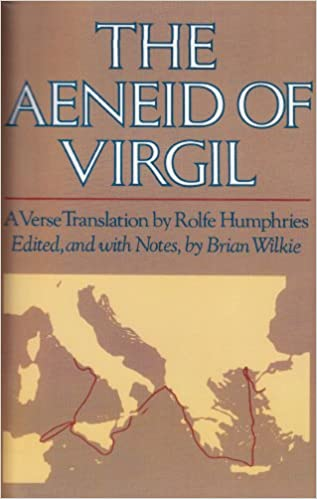 Book The Aeneid of Virgil: A Verse Translation By Rolfe Humphries
