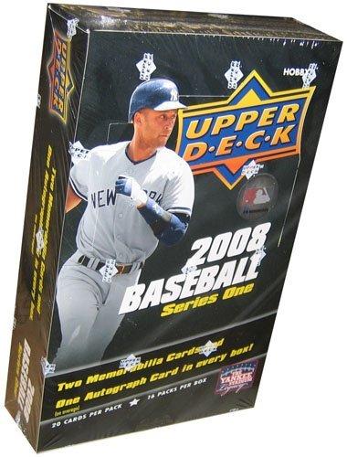 2008 Upper Deck Series 1 Baseball Hobby Box [Toy]