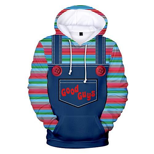 Kdfsffjjekl Good Guys Chucky Fashion Hoodies Sweatshirt 3D Print Sweatshirt -