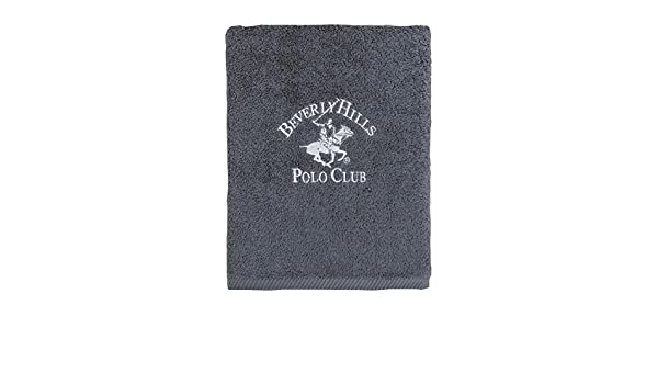 Beverly Hills Polo Club Toalla Manhattan Gris 85 x 150 cm: Amazon.es: Hogar