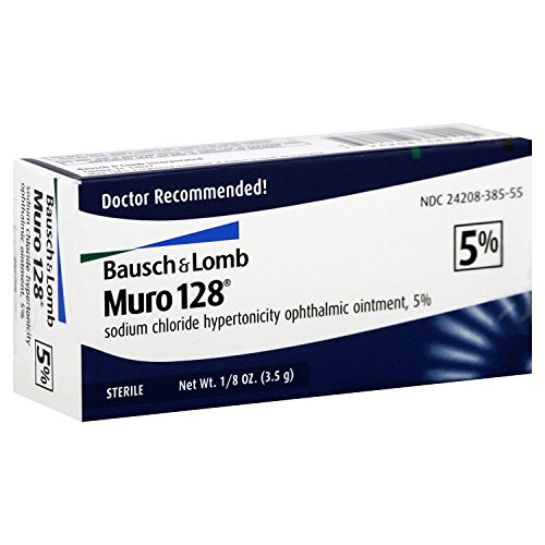 Bausch & Lomb Muro 128 5% Ointment 3.50 g (Pack of 3)