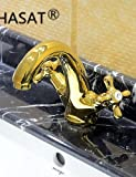 Ling@ Basin mixer Country Ti PVD Brass Widespread