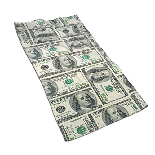 Federal Brass Sconce - OBILITDREAM Dollar Bills of United States Federal Reserve Face Towel,Hand Towel,Kitchen Towels-Dish 3D Design Pattern Towel,Towels for The Kitchen,Cleaning,Cooking,Baking 15.7x27.5in