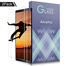 Samsung Galaxy Note 8 Screen Protector,AOFU Full Coverage HD Anti-Bubble Tempered Glass Screen Protector (2 Pack)
