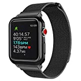 Unti Compatible with Apple Watch Band with Case 42mm, Compatible with iWatch Band Series 3 2 1 Sport and Edition